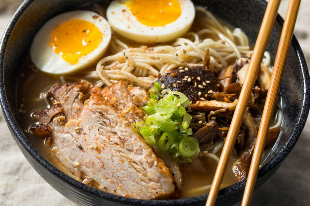 Homemade Japanese Pork Tonkotsu Ramen